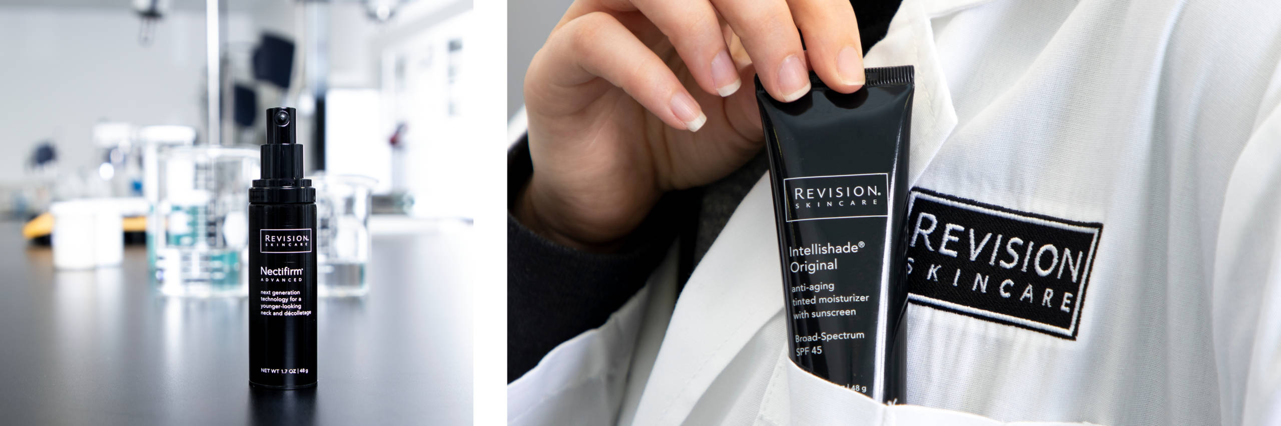 Revision Skincare header. Revision Skincare products available at Skin Renewal Systems