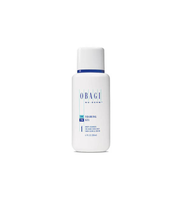 Obagi Foaming Gel Cleanser available at Skin Renewal Systems