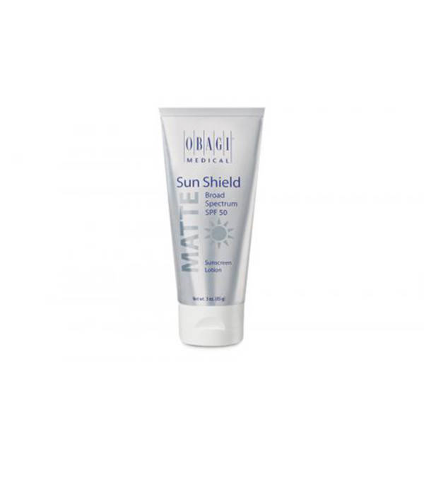 Obagi Sun Shield Matte Broad Spectrum SPF 50 available at Skin Renewal Systems